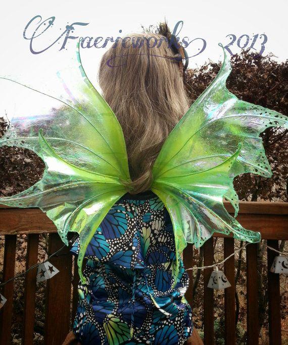 Water Faery Wings Fairy Wings Mermaid Fins Water Dragon for