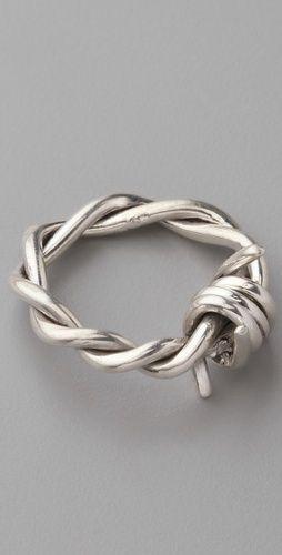 Barb Wire Ring♥ EEH.. wanntttt