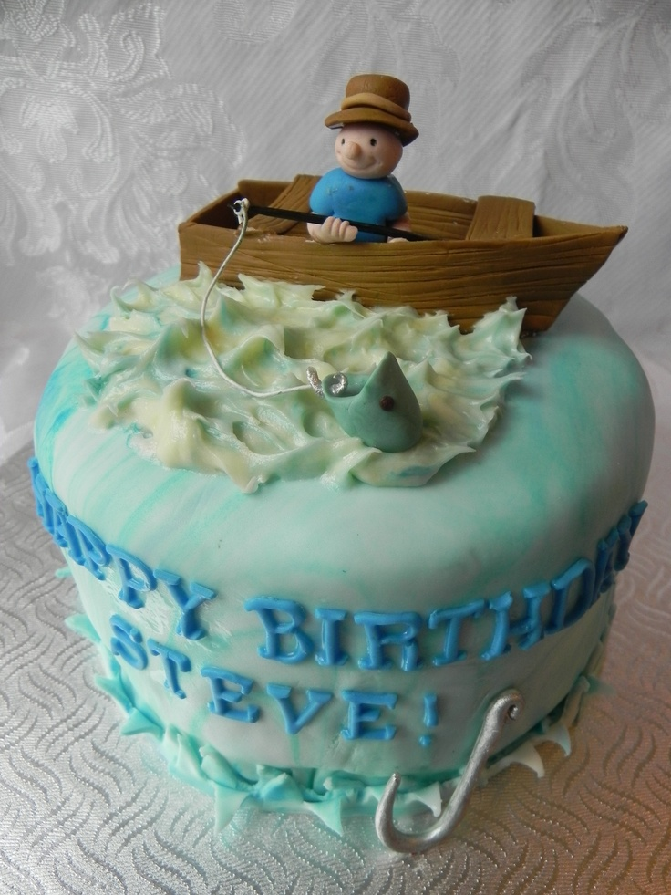 17 Best images about Fishing boat cake! on Pinterest | The ...