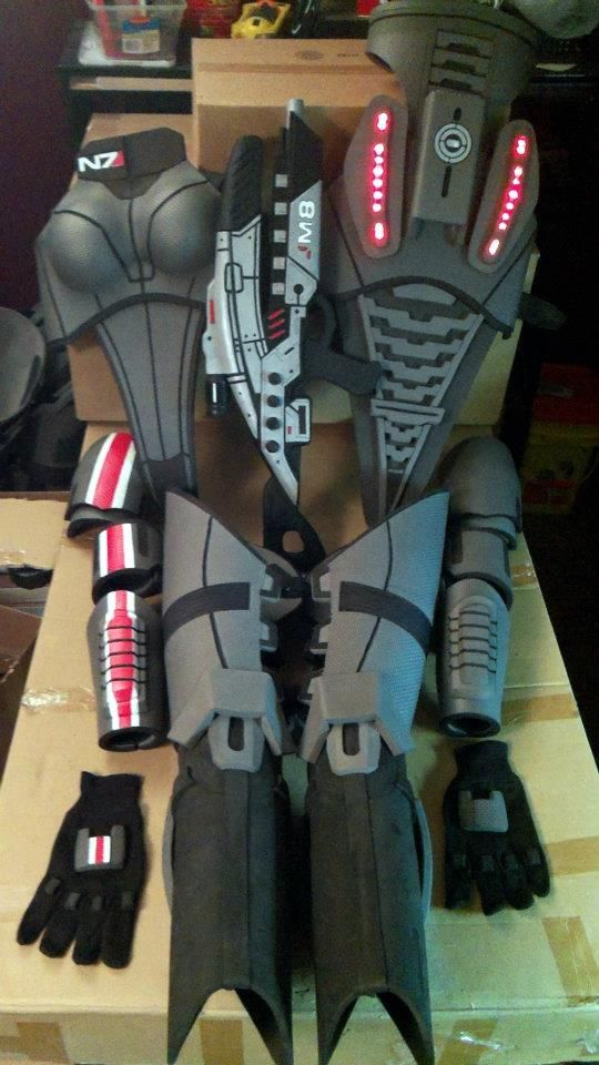 Mass Effect Cosplay N7 Armor