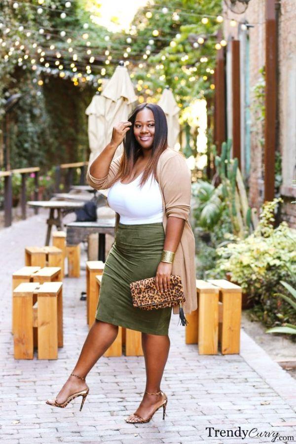 849113ddddc 12 Dressing Tips for Plus Size Woman - Hug the Curves   fashion ...