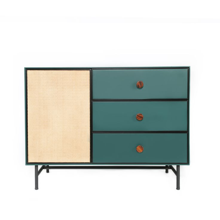 Maison Sarah Lavoine: Essence green chest of drawers €2200