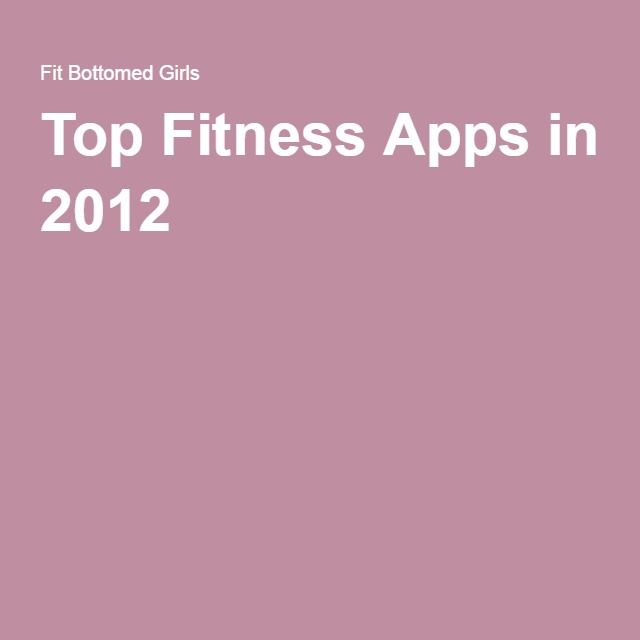 Top Fitness Apps in 2012