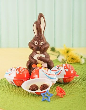 46 best easter eggs and gift hampers images on pinterest gift small easter bunny and kinder joy negle Images