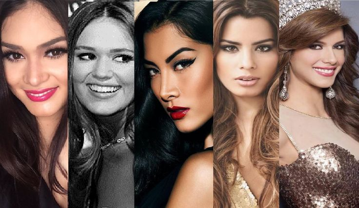 Miss Universe 2015 - 2016 : My TOP 5