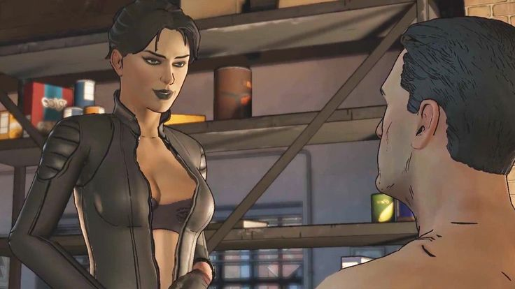 Catwoman and Batman Romance Scene - Batman Telltale Episode 3