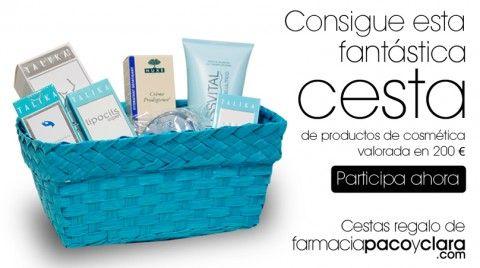 ¡Consigue una cesta de productos de cosmética valorada en 200€!