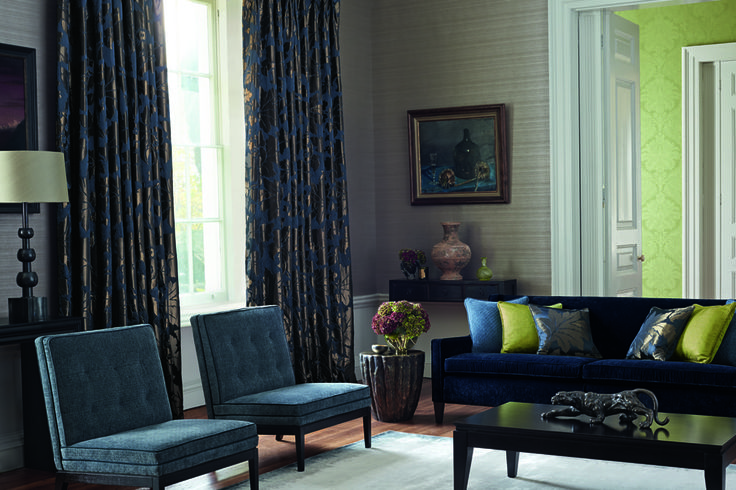 Constantina by @ZoffanyFW available from Rodgers of York #lounge #interiors