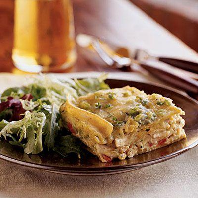Chicken Poblano Casserole - Healthy Chicken Casseroles - Cooking Light