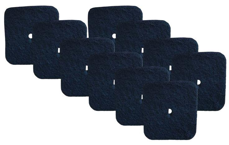 10PK Carbon Filters Fit Catit Litter Pan, Part # 50685, 50700, 50701, 50702, 50722, 50695 & 50696