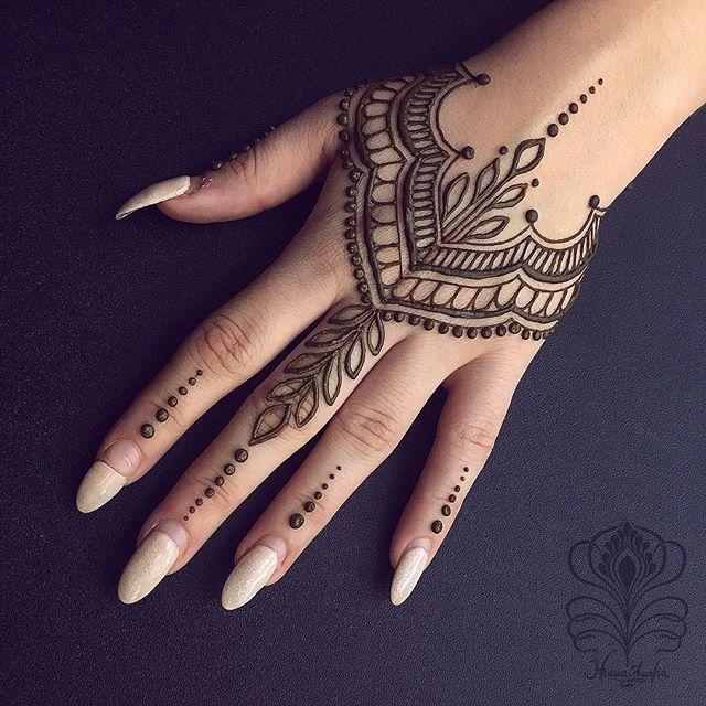 Hand Finger Henna Tattoo Designs Henna Tattoo Hand Unique Henna
