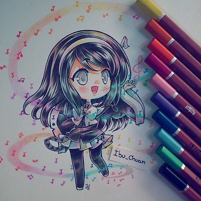 No saben lo feliz que estoy ;7; creí que había perdido este dibujo, lo busque…