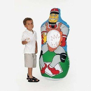 Amazon.com: Inflatable Baseball Party Game: Toys & Games