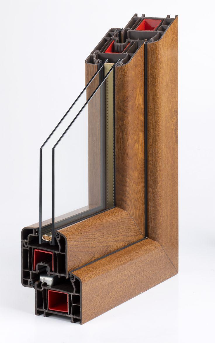 Modello Start 70. Versione con pellicola in simil legno.