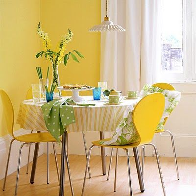 Yellow Dining Room   I Need Some Curtain Inspiration! Part 41