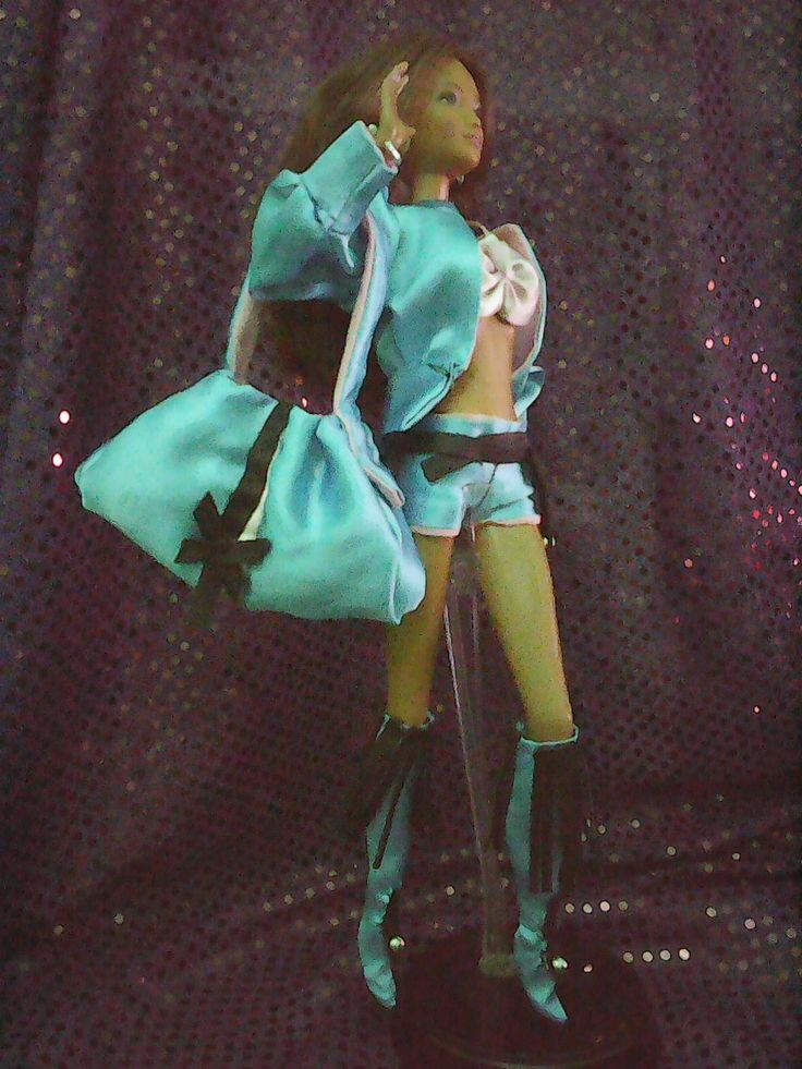 KAYLA IN BLUE MOOD,OOAK OUTFIT