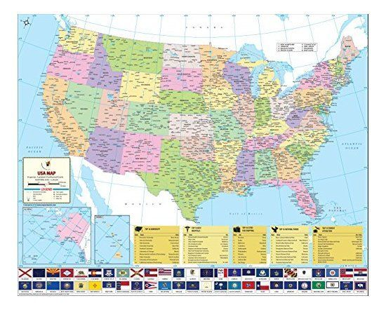 51 best USA STATES COUNTY MAPS images on Pinterest Envelope Usa
