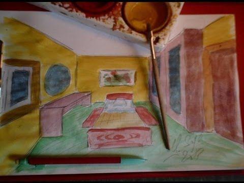 17 meilleures id es propos de dessin en perspective sur - Comment dessiner une chambre en perspective ...