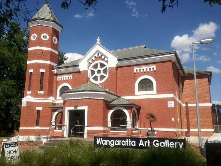 Visited the Art Gallery in Wangaratta today!