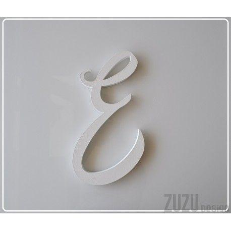 E - monogram