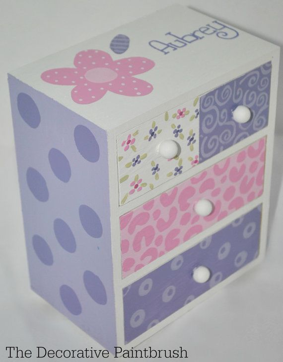 Jewelry Box Personalized Gift Flower Girl by TheDecorativeBrush