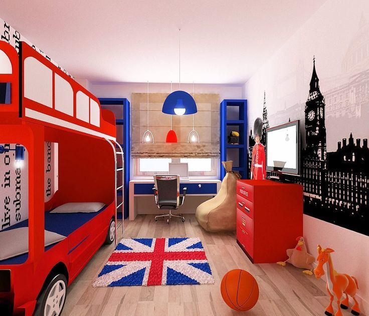 Оформляем детскую комнату в английском стиле-9