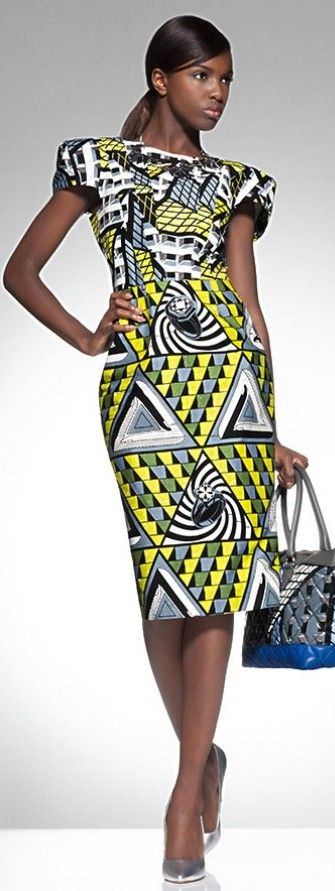 Leomie Anderson for Vlisco Parade of Charm