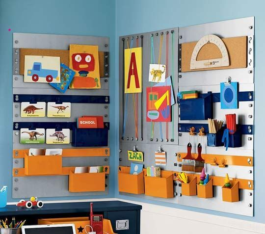 Inspiration: kids craft stations - Love Stitched