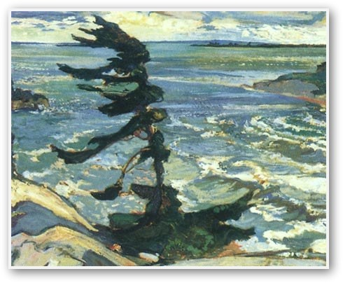 Fred Varley -  Stormy Weather Georgian Bay