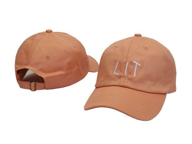 Swag LIT Baseball Cap Strapback Hats For Men And Women Female Hat Bones Gorras Casquette De Marque Coffee Cap