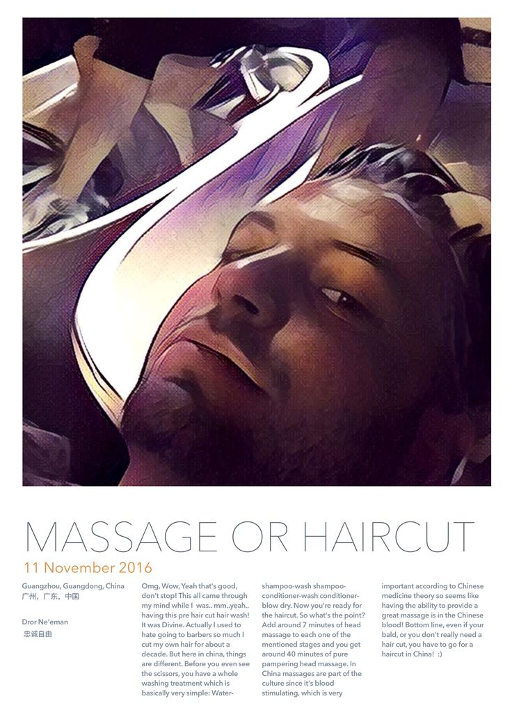 Massage or haircut?! Must do!