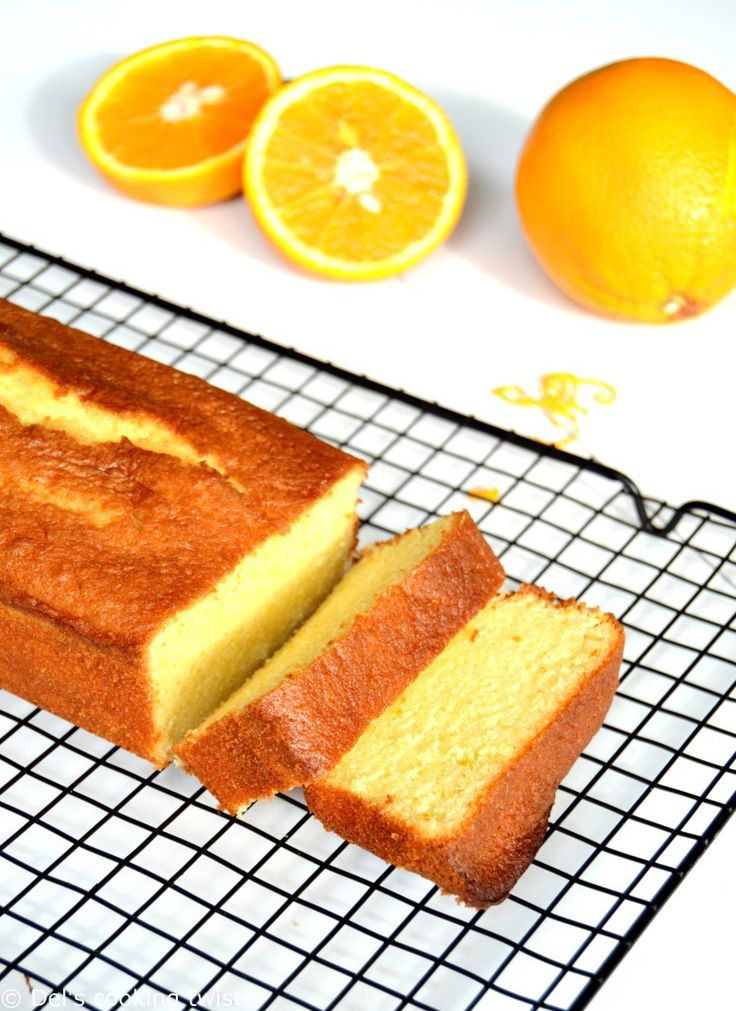 [:en]Orange Pound Cake[:fr]Cake à l'orange ultra moelleux[:]