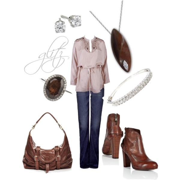 Love Brown.: Copy Cat, Dinners Outfits, Billowi Tops, Club Outfits, Brown, Dresses Outfits, Cat Pieces, Character Style, Boots