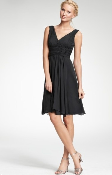 A classic silk dress from Ann Taylor. #outfit #wedding #guest: Silk Dresses, Bridesmaid Dresses, Classic Dresses, Classic Silk, Style Pinboard, Little Black Dresses, Ann Taylor, Anne Taylors, Fashion Sense