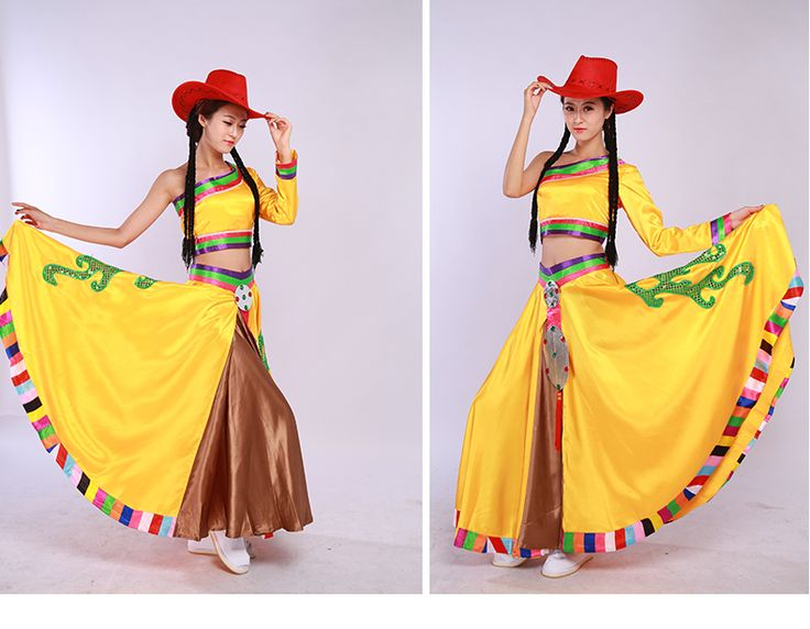 Kangding Love Song, dance clothing women most unusual costumes Tibetan ethnic dance style clothing