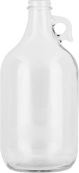 1/2 GAL (64 OZ) 38MM 38-405 CLEAR GLASS JUG. This jar is excellent for #drinks, #beverages, #chemicals and more. May be a great opportunity for a #wedding #DIY project!
