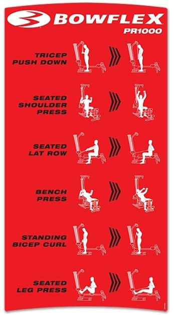 workout routines for bowflex complete - Google Search