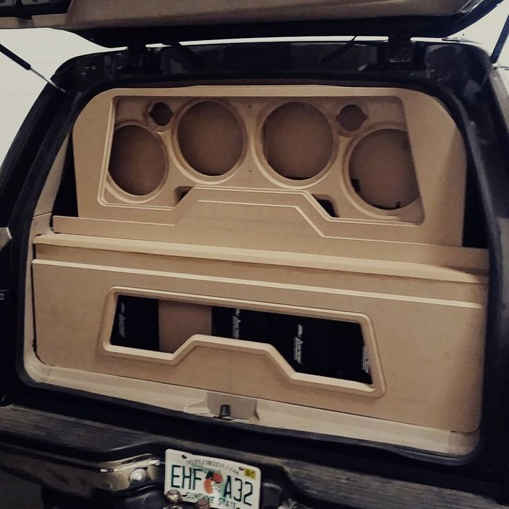 You get in your groove, music's right, creativity flowin' and you run out of wood....:( #experience #experiencethesound #latenightgrind #thewoodgodsaremadatme #manglitter #floridaspl #groundpounder #layers #tailgating #woodworking #waytobeprepared :(  Repost from our friends @experiencethesound #customcaraudio #bestinpensacola #carstereo #mobile #cars #addicted #exotics #funtimes #party