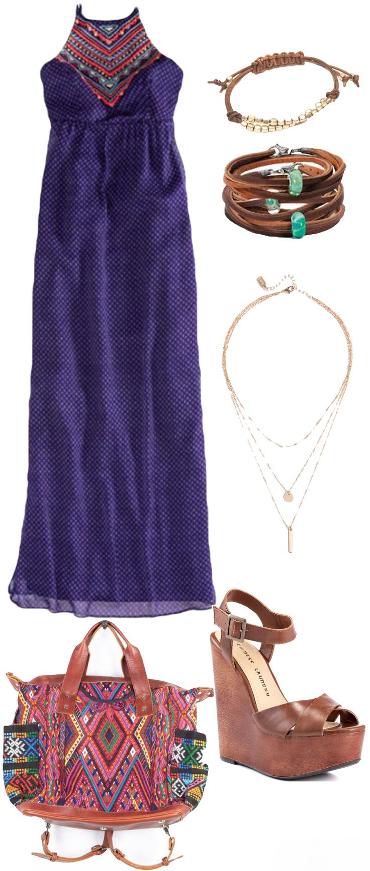Beautiful and Vibrant!  Its easy to wear this outfit to a brunch the beach or date night!  All with this outfit.  Check out our styles and boho outfits at ZillyChic.com
