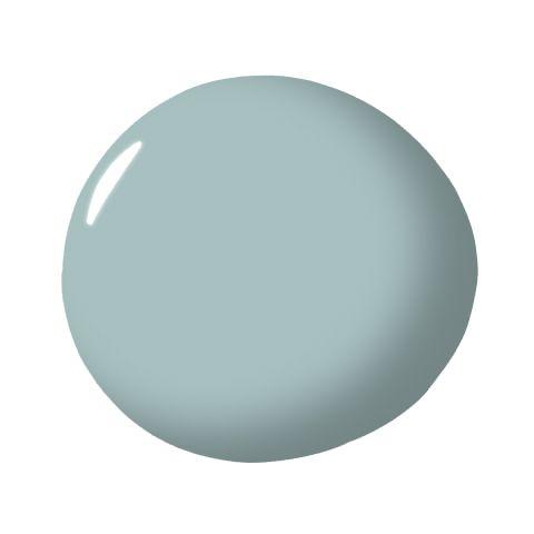Lulworth Blue, Farrow & Ball  - ELLEDecor.com                                                                                                                                                                                 More