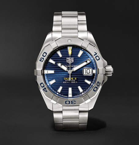 Tag Heuer Aquaracer Automatic 40.5mm Steel Watch in 2019 ...