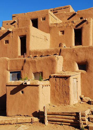 adobe homes by sam_, via Flickr