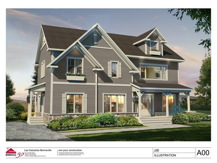 Multilogement - Maison neuve jumelée, modèle J2E