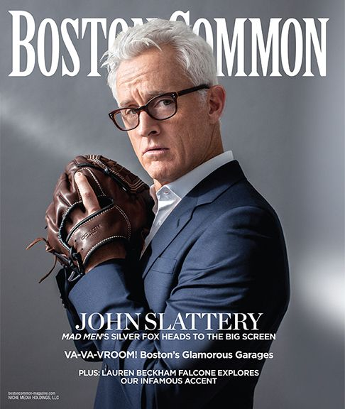 """O, that I were a glove upon that hand""...John Slattery (Boston Common magazine, May 2012)"