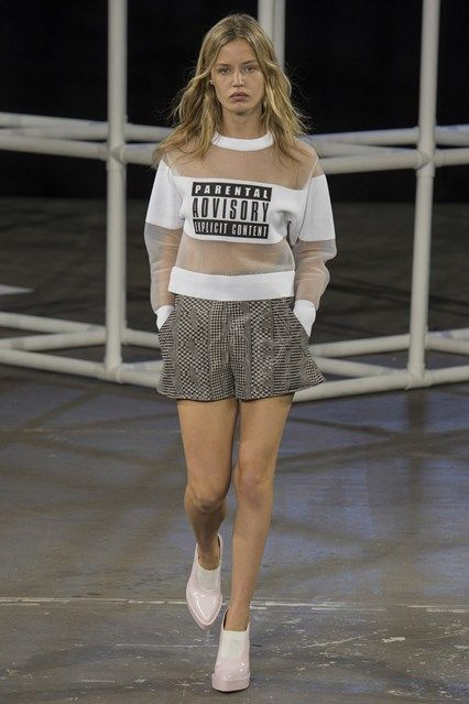 Spring/Summer 2014 Trends – Fashion Week Key Pieces (Vogue.com UK)Alexander WangYou have been warned.