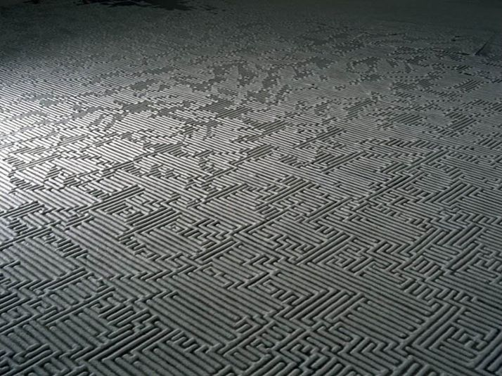 Motoi Yamamoto - Art & Installations - Saltworks - Return to the Sea