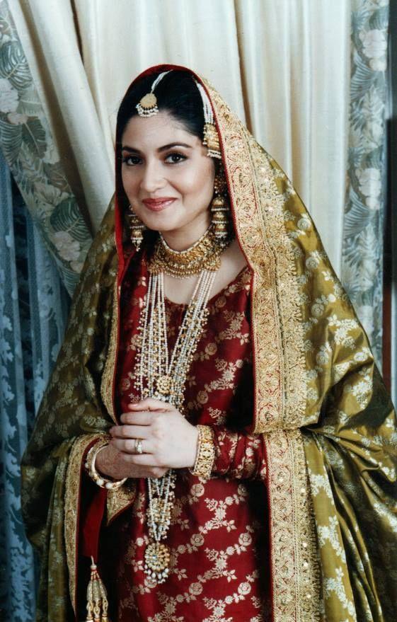 nazia hassan wedding fashion showbiz magazine pakistan