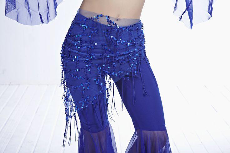 Женщины пресс танец хип ремень пайетки танцы кисточка банданы талия цепь индийский костюм сари одежда для танцы шарф