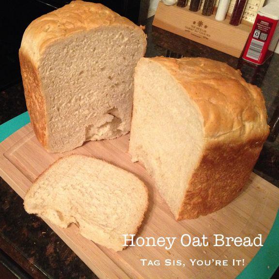 Honey Oat Bread Machine Recipe