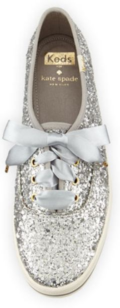 LOVE these glitter Keds for kate spade! http://rstyle.me/n/skxrvnyg6